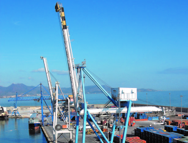 El puerto de Castellón registra su récord histórico en julio