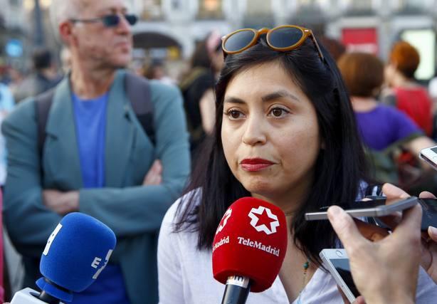 Una activista de Ahora Madrid de 70 años, agredida con una patada voladoras durante unas fiestas