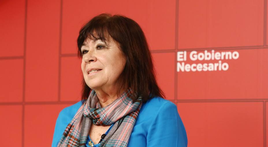 Narbona (PSOE) insta a Ciudadanos a aclarar qué medidas de Vox apoya