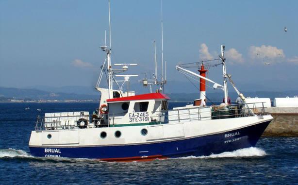 Foto del pesquero Brual, con base en Cedeira