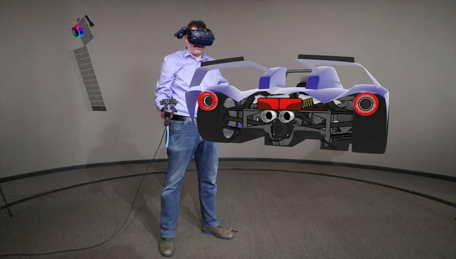 Ford utiliza la herramienta Gravity Sketch para el diseño de sus vehículos a través de realidad virtual