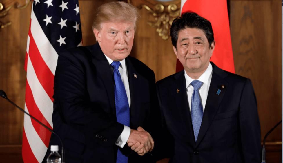Trump visitará Japón a finales de mayo para reunirse con Abe y Naruhito