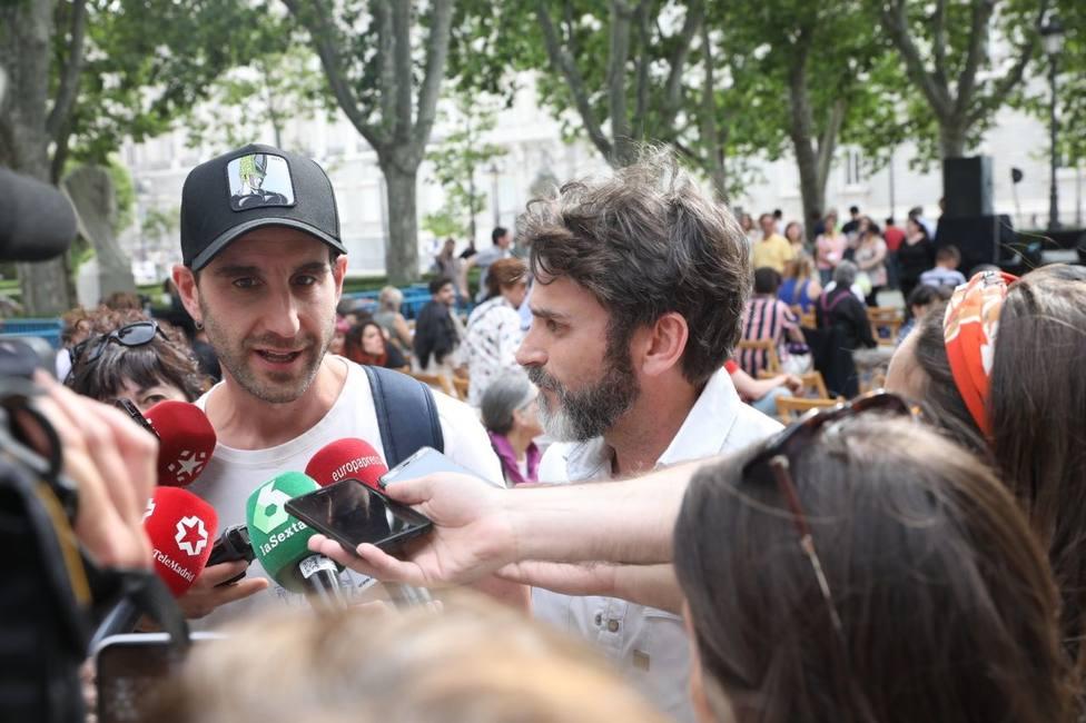 Dani Rovira y Fernando Tejero apoyan a Más Madrid para que la gente no se divierta a costa de los animales
