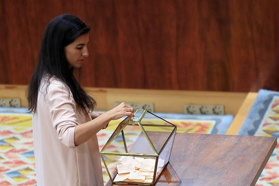 Vox asegura que ha pactado con el PP entrar en el gobierno de la Comunidad de Madrid