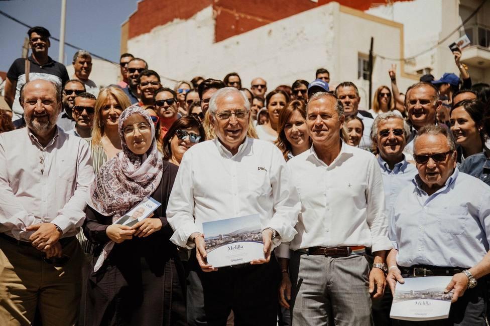 El PP hace un último llamamiento a Cs en Melilla para evitar que gobierne el líder de Coalición por Melilla