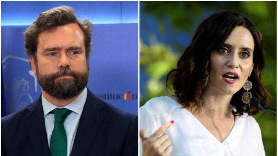 Espinosa de los Monteros revela la primera victoria de Vox sobre Díaz Ayuso como presidenta de la Comunidad