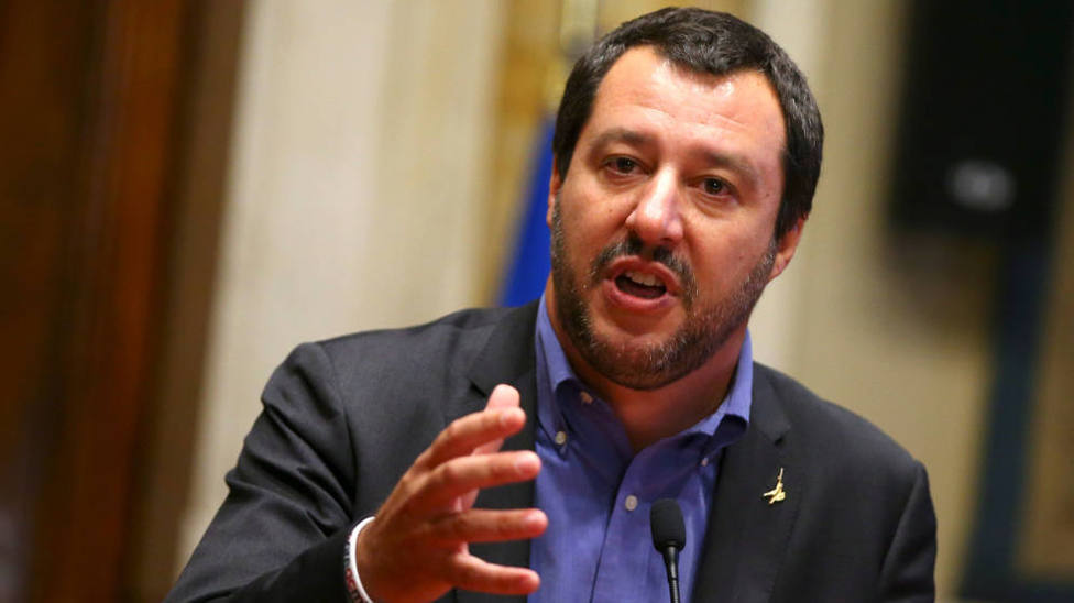 Salvini pide una repetición de elecciones en Italia por el espectáculo de M5E y el Partido Democrático