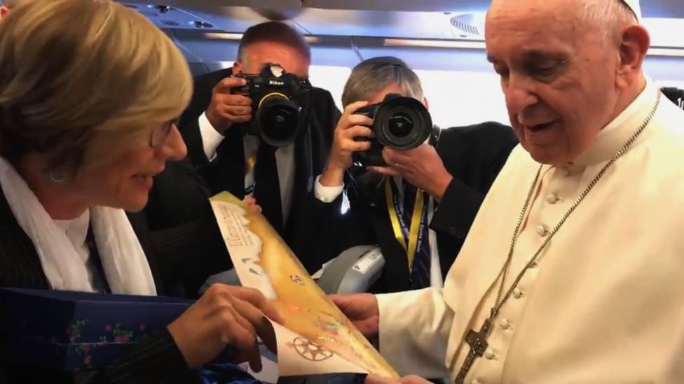 Así responde el Papa ante la invitación de viajar a Santiago de Compostela