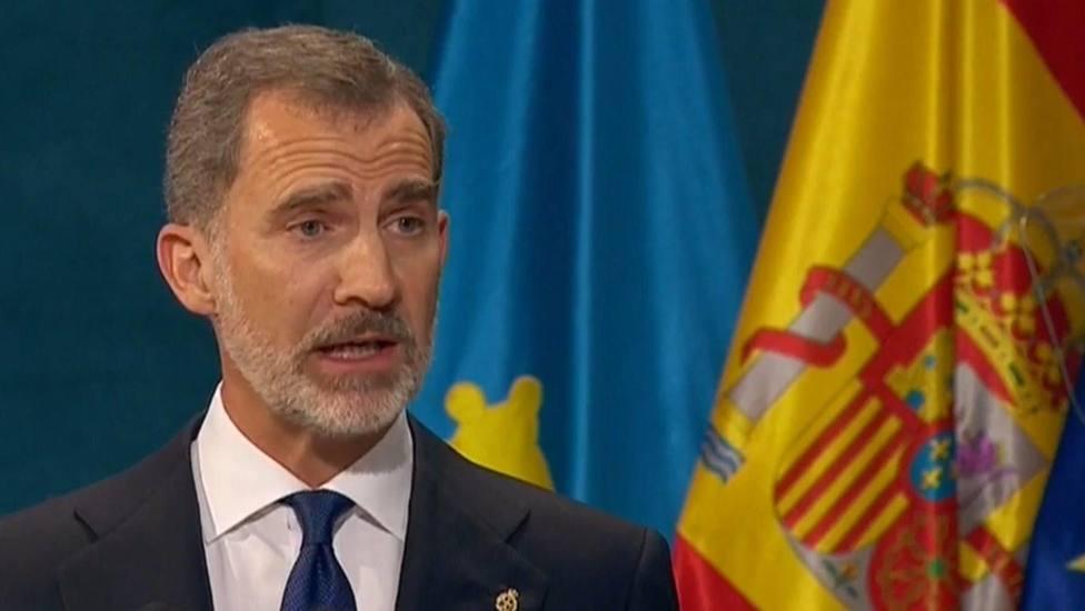 Felipe VI reivindica la ejemplaridad de los galardonados en los Premios Princesa de Asturias
