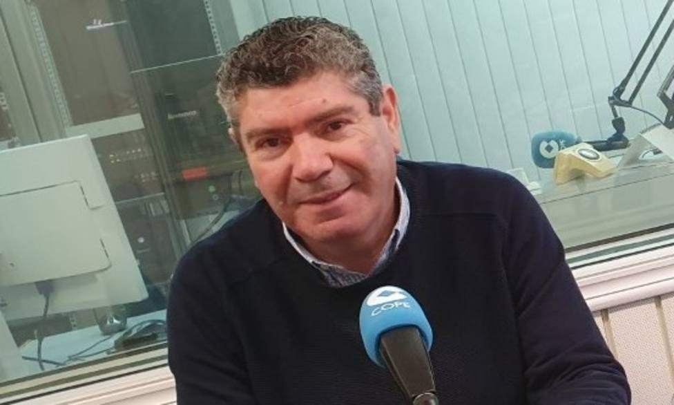 El alcalde de Burela, Alfredo Llano