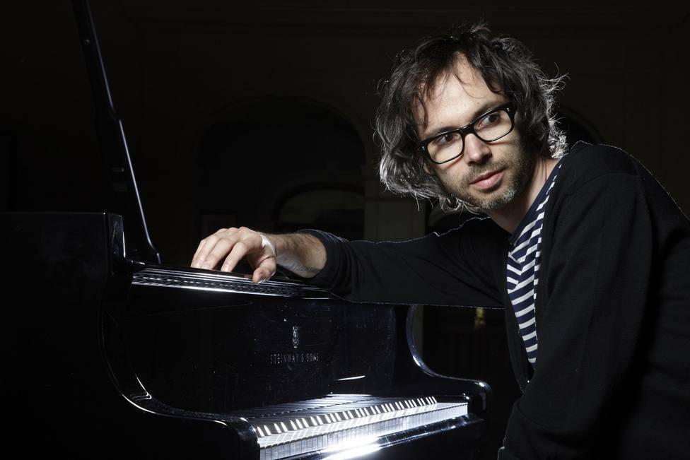 El pianista británico JamesRhodes