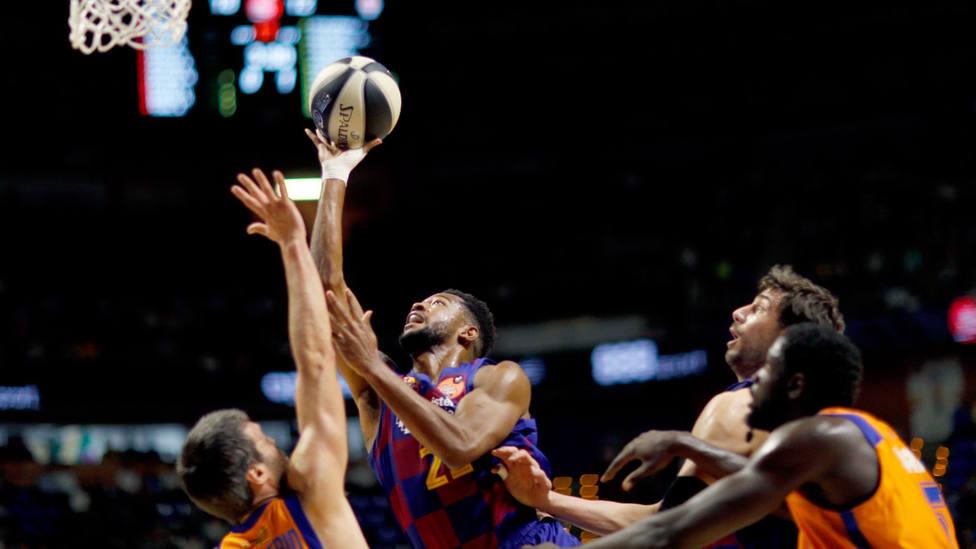 El Barça - Valencia Basket, primer partido de la Copa del Rey de baloncesto 2020. EFE