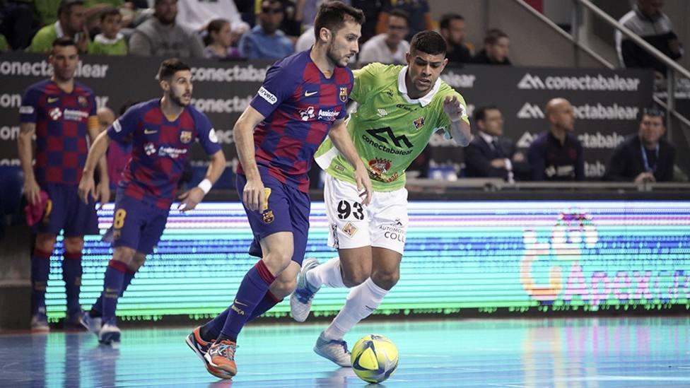 Sergio Lozano rescata un punto para el Barça en Palma