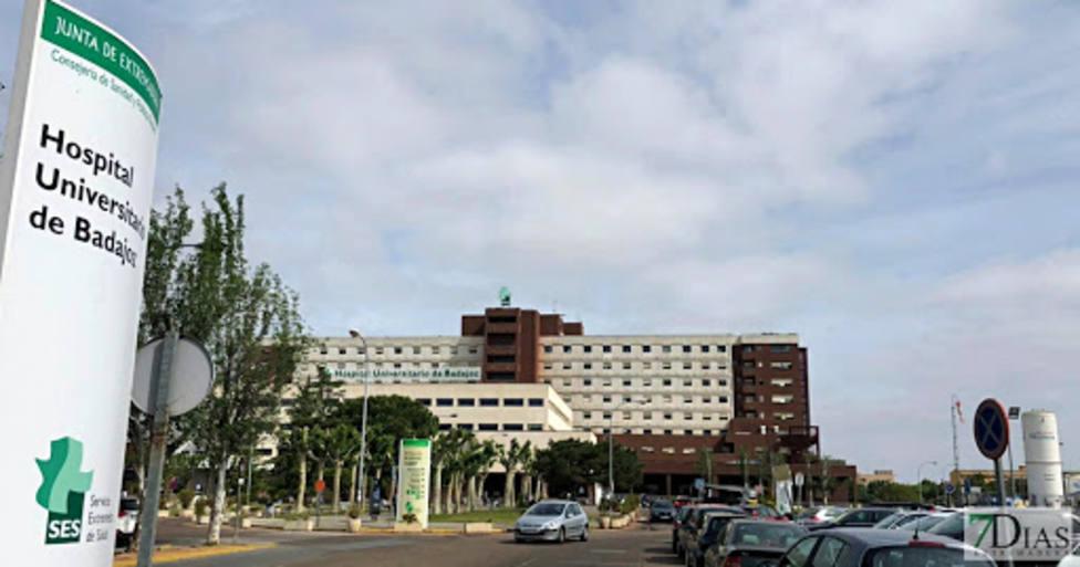 Hospital Universitario de Badajoz. Foto: Juntaex