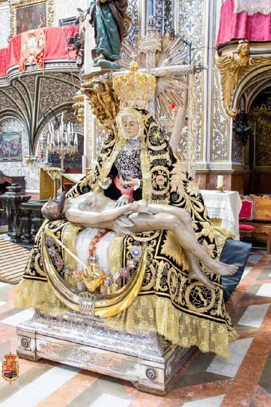 Virgen de las Angustias, patron saint of Granada
