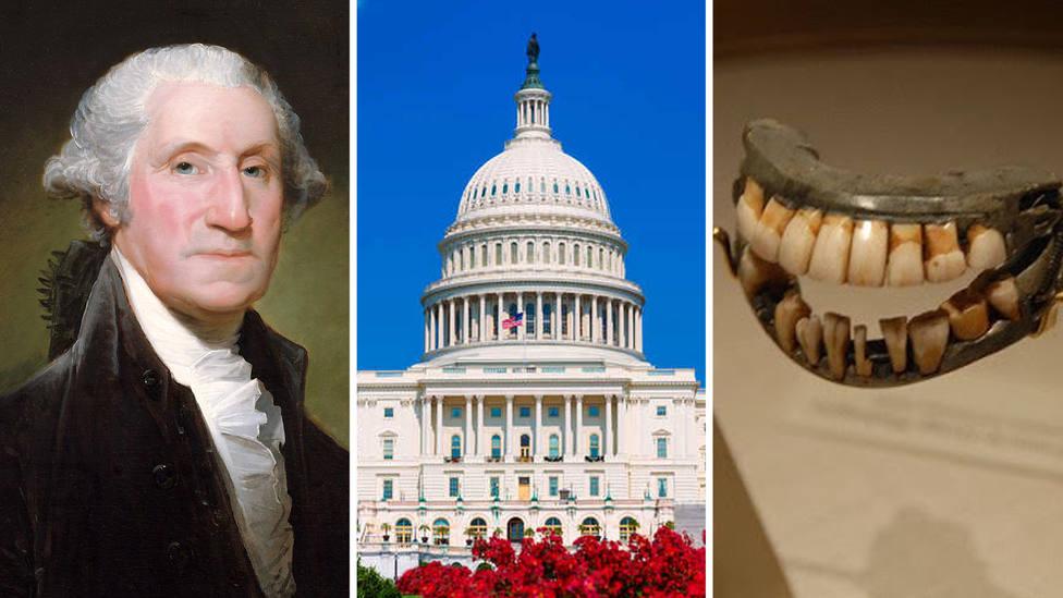 ¿Hay que cambiar el nombre de la capital de EEUU? La dentadura de Washington tiene la respuesta