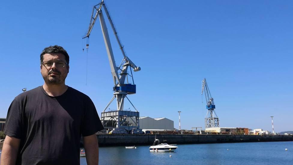 """Pensar que la construcción naval no tiene futuro, es cómo ser de otro planeta"""", recalcó el candidato del BNG"""