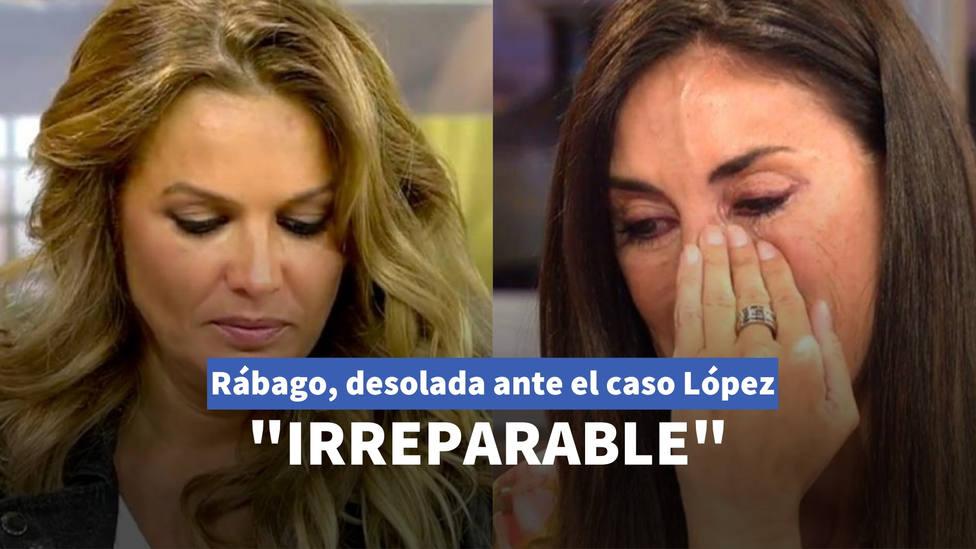 """Isabel Rábago, desolada ante las """"informaciones falsas"""" que la vinculan con Marta López: Irreparable"""