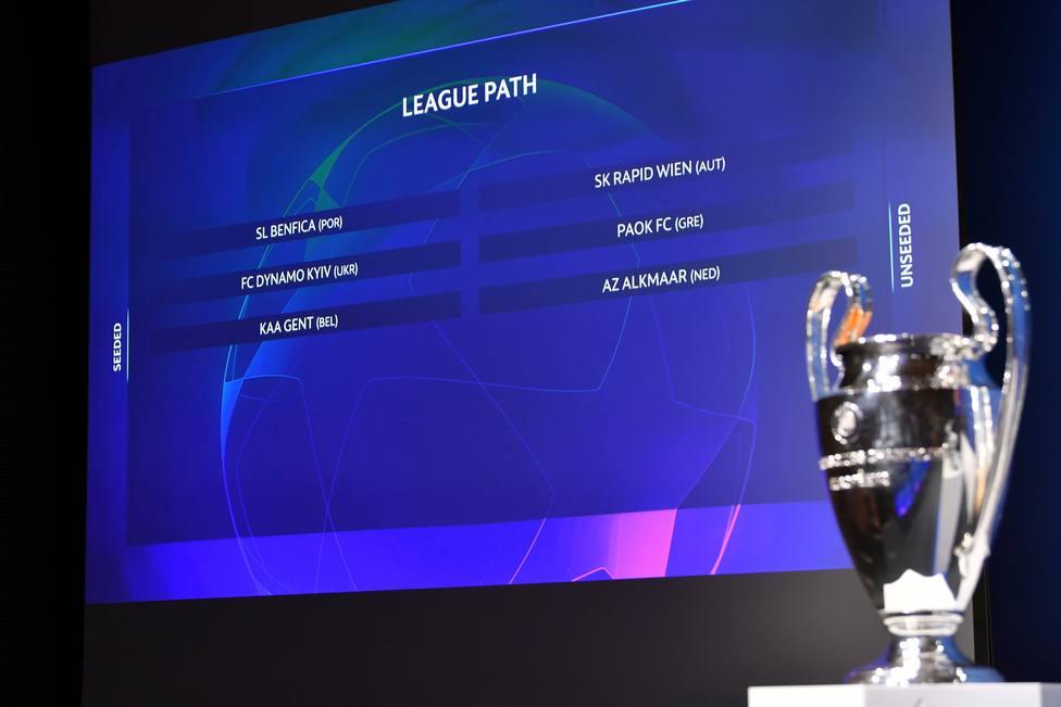 Paok - Benfica, duelo estelar en los emparejamientos de la tercera ronda clasificatoria de la Champions League