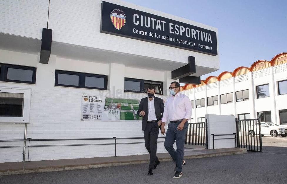 Murthy y Gracia, en Paterna