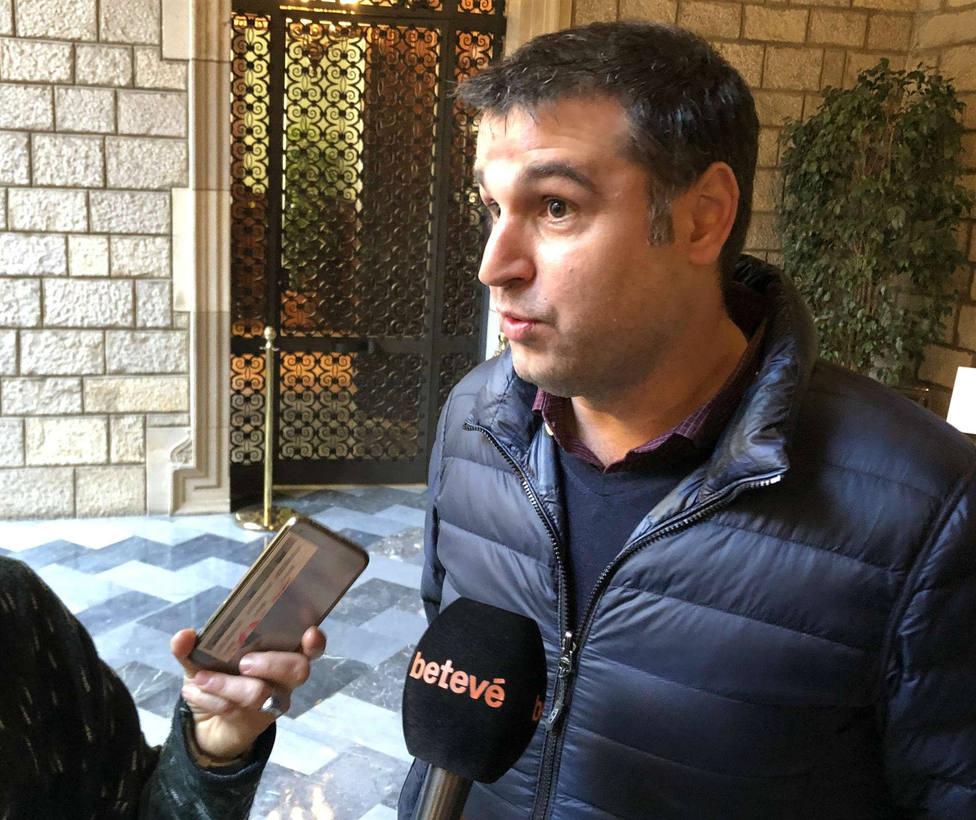 El director del Gremi de Restauració de Barcelona, Roger Pallarols, en una imagen de archivo.