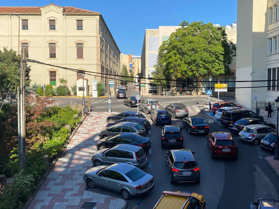 El autocovid de Cáceres se traslada de la Montaña al ferial desde el martes
