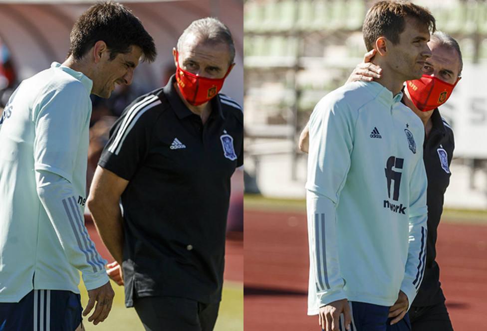 Gerard Moreno y Diego Llorente causan baja por dolencias musculares