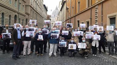 Los jesuitas se movilizan en Roma para exigir la liberación del padre Stan Swamy