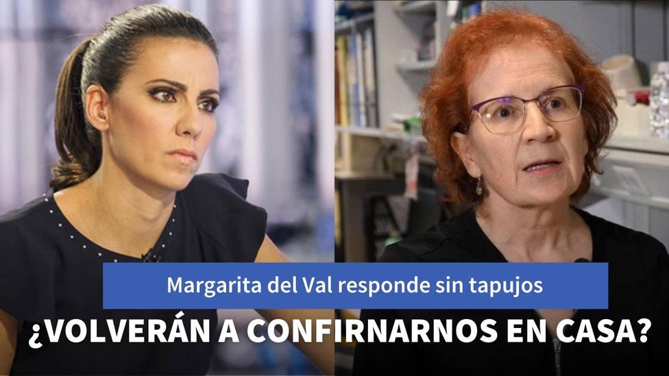 Margarita del Val responde sin tapujos a la pregunta que se hace toda España: ¿volverán a confinarnos en casa?