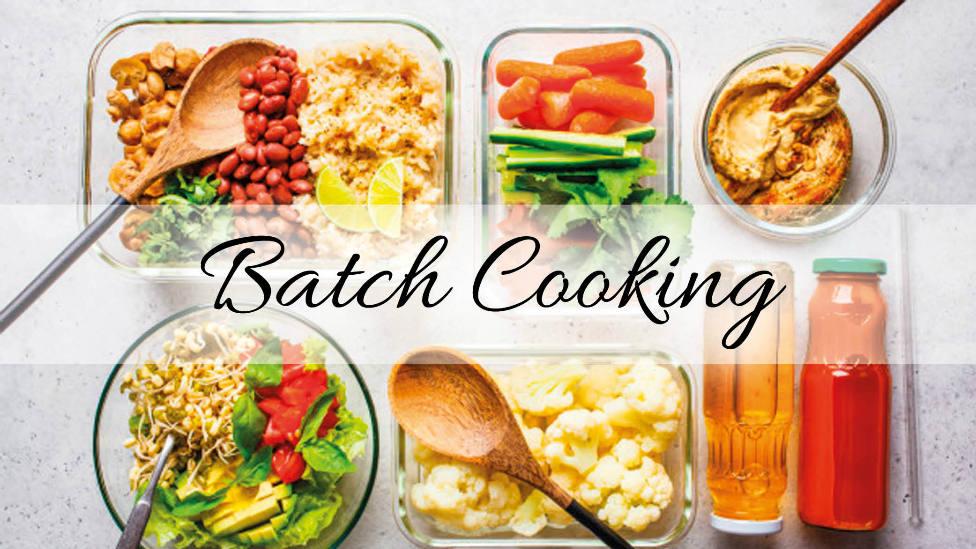 Descubre el batch cooking: una manera perfecta de organizar tu menú semanales