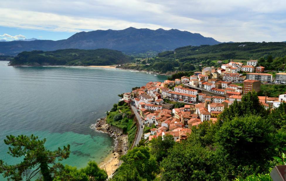Pueblo costero de Asturias