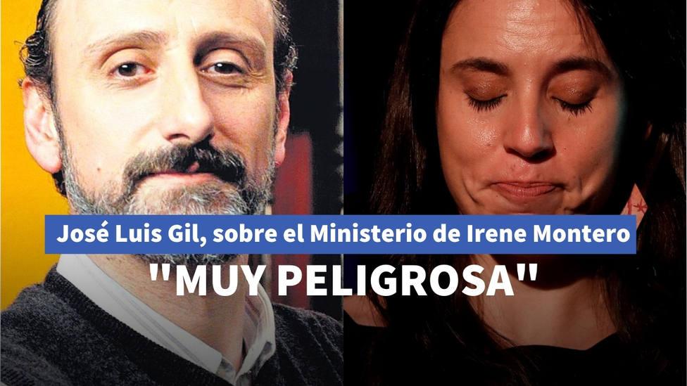 """La advertencia de José Luis Gil sobre el Ministerio de Irene Montero: """"Si no lo ves venir, tienes un problema"""""""