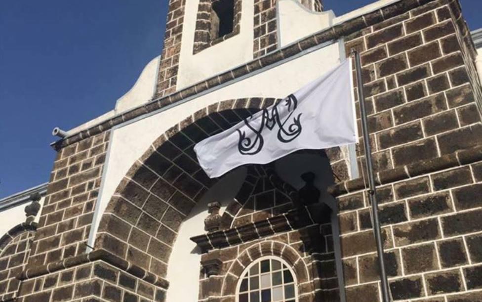 Bandera Virgen Los Reyes El Hierro