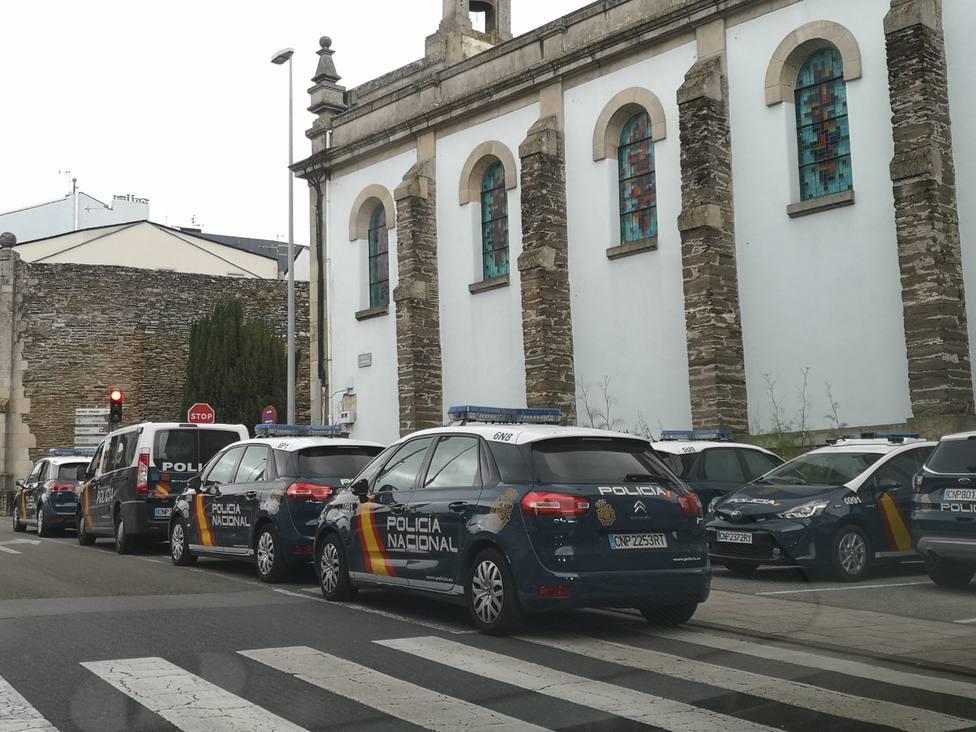 Detenido un ladrón reincidente cuando dejaba Lugo tras un cometer un robo con violencia