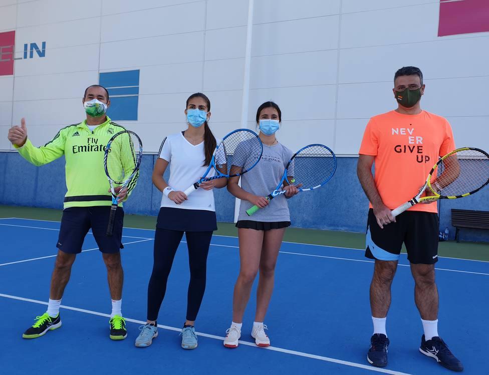 La familia Vázquez impone su ley en el XIII Torneo de Navidad de tenis