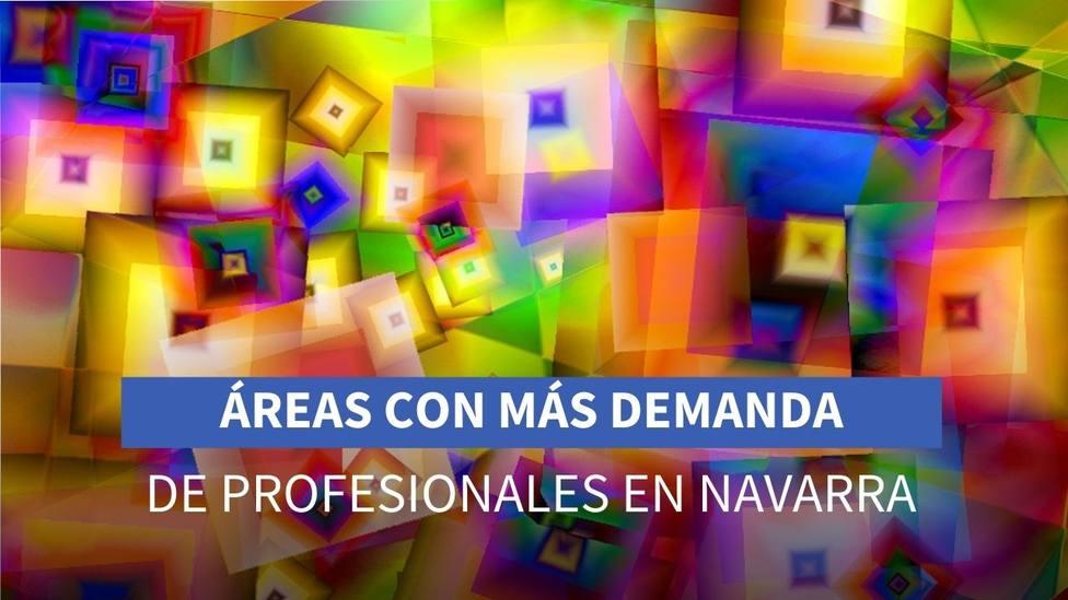 Artes Gráficas, Tecnología, Sanidad e Industria, las áreas con más demandas de profesionales en Navarra