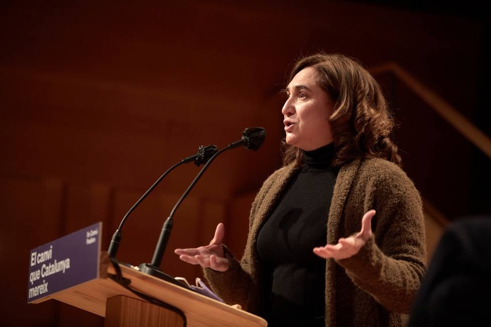Acto de En Comú Podem en Girona
