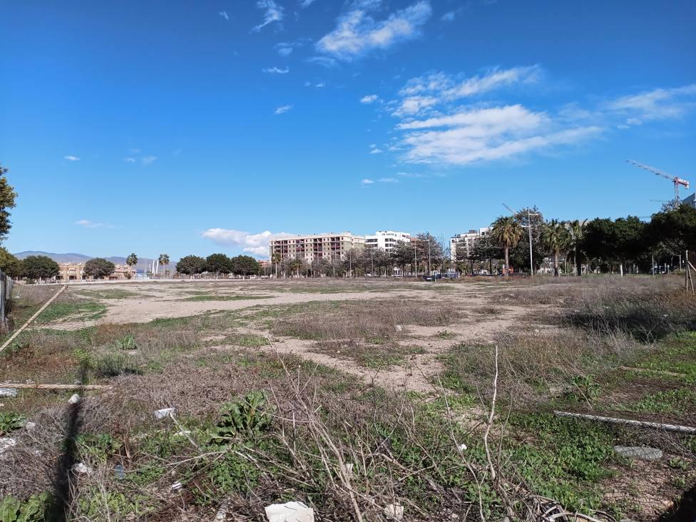 Esta es la parcela donde se construirá un nuevo colegio en la Vega de Acá
