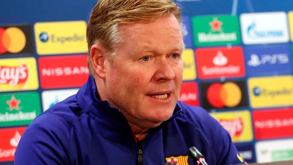 Ronald Koeman, en rueda de prensa (FC Barcelona)