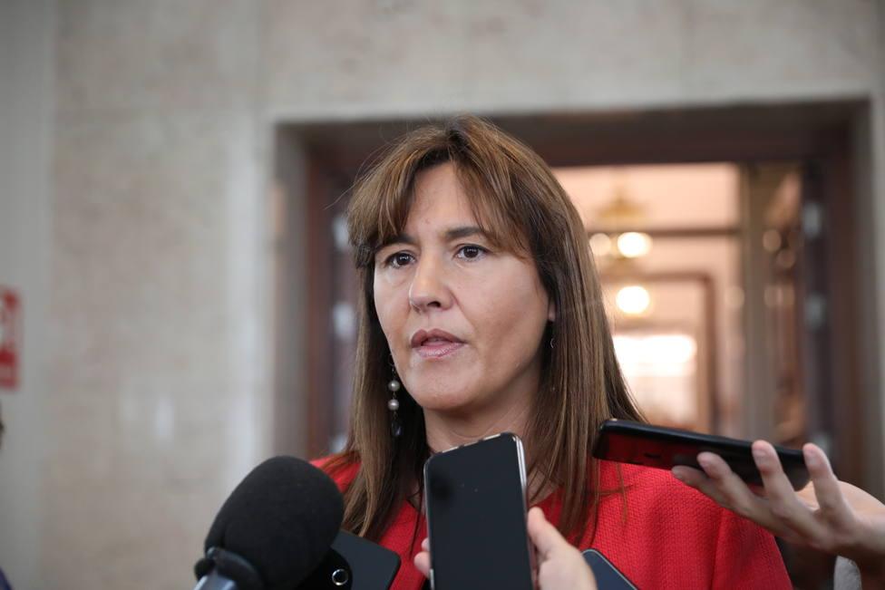 Borràs (Junts) visita en la cárcel a Hasél, otro preso político de la (in)justicia española
