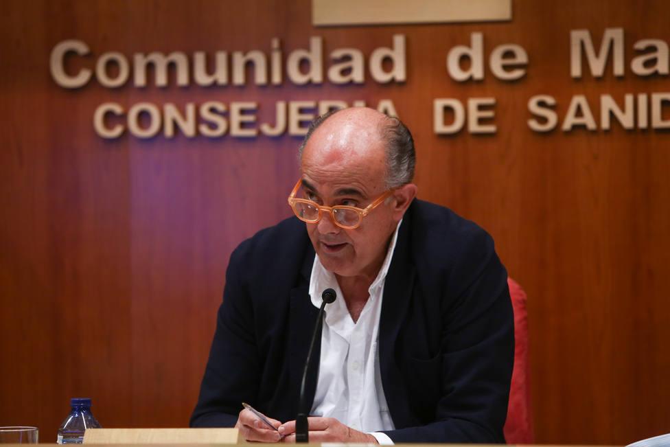 El viceconsejero de Salud Pública y Plan Covid-19, Antonio Zapatero