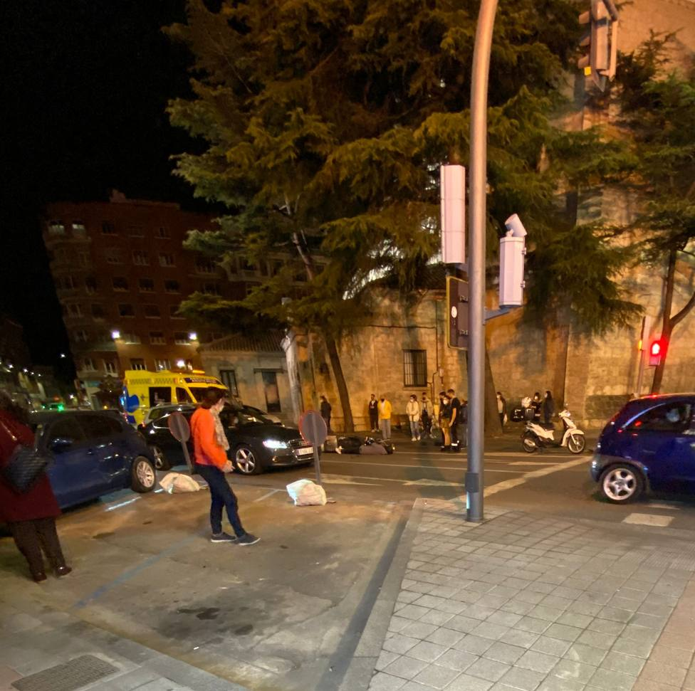 Accidente en la Plaza San Lázaro