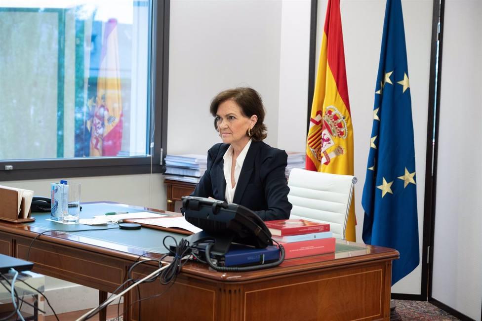 Calvo solicita ayuda a la Comisión de Venecia para vigilar que la democracia se materializa