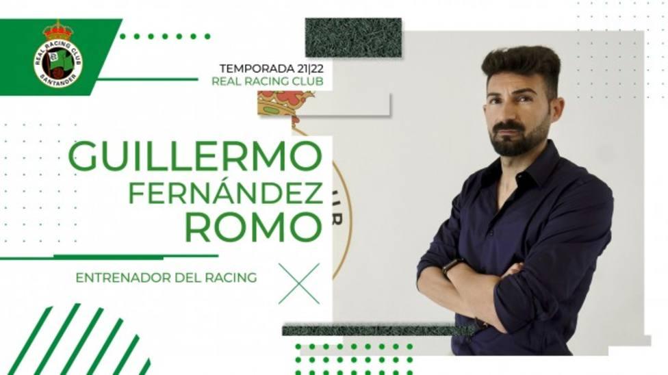 Guillermo Fernández romo es el nuevo entrenador del Racing