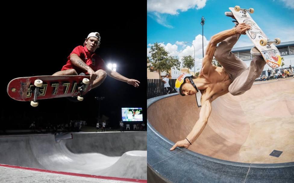 Los skaters Jaime Mateu y Danny León se clasifican para Tokio