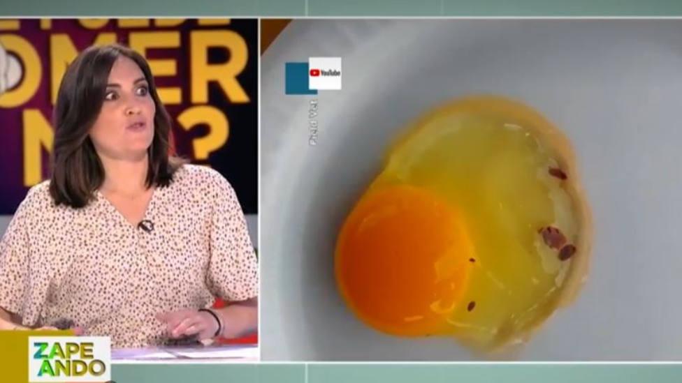 Boticaria García explica qué es lo que te puede pasar si te comes las manchas rojas de los huevos