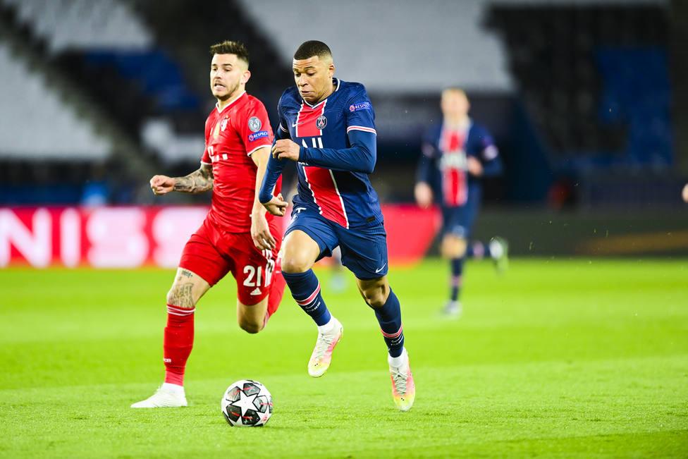 FOOTBALL - UEFA CHAMPIONS LEAGUE - PARIS SG v BAYERN MUNICH