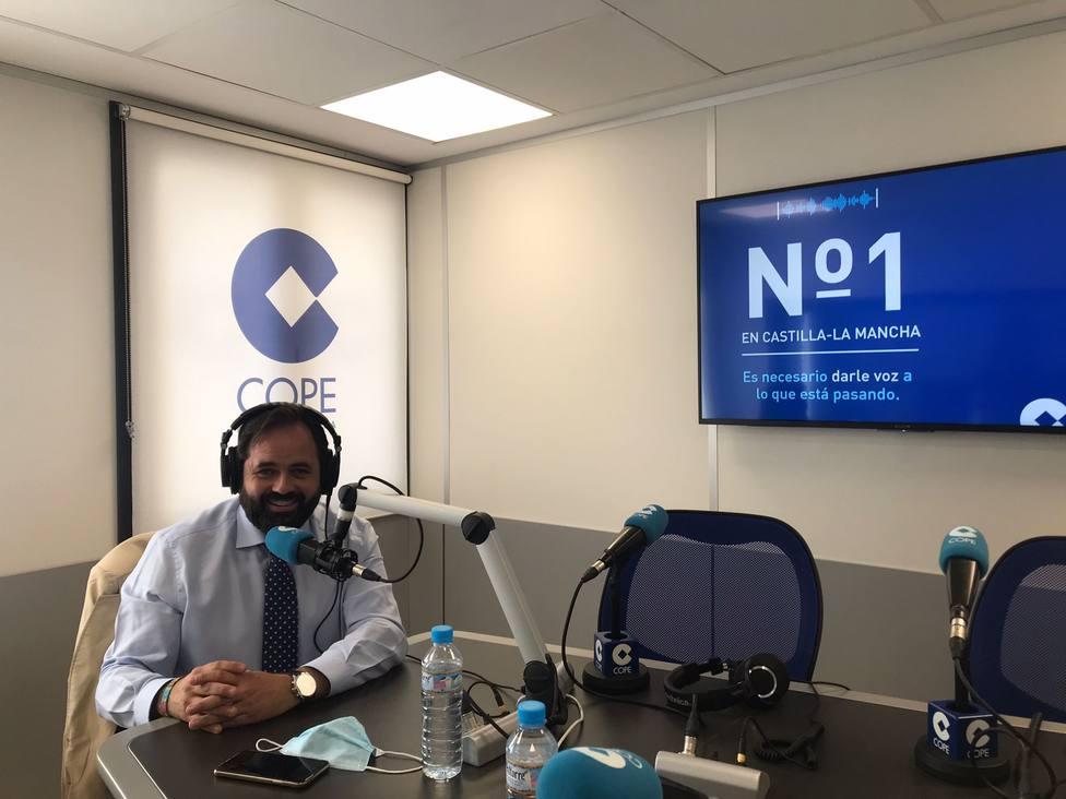Paco Núñez en COPE CLM