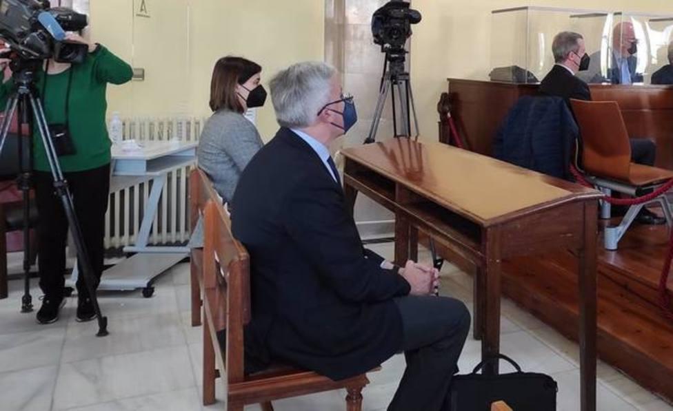 Fernández de Moya en el juzgado. Imagen de archivo. Europa Press