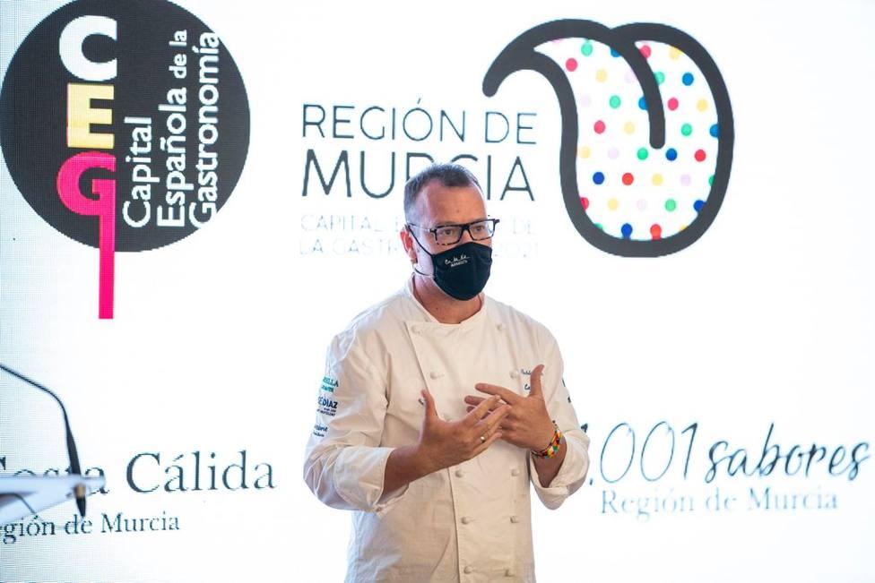 Presentación gastronomía de Murcia